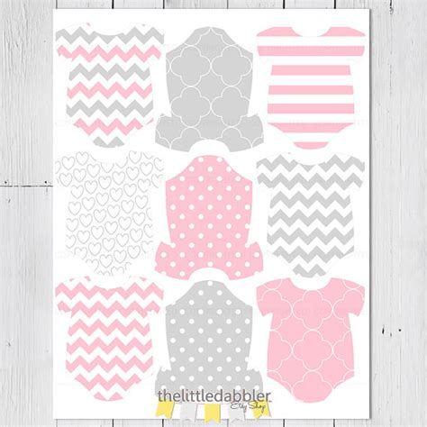 Printable Onesie Tags | printable baby one piece onesie tags pdf by thelittledabbler