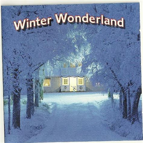 winter wonderland cd compilation discogs