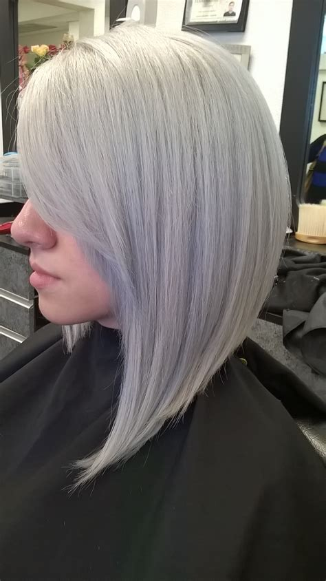 i have silver hair but what color low lights should i use formula modern silver hair color modern salon