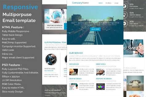 Newsletter Design Template Design Trends Premium Psd Vector Downloads Easy To Build Websites From Templates