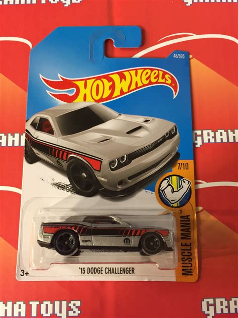 Hi Roller Merah Silver Hw Hotwheels Wheels 15 dodge challenger 48 silver 2017 wheels b grana toys