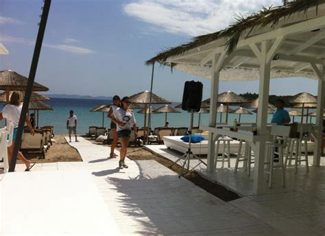Blue Fish Beach Bar   Beach bars, Chalkidiki