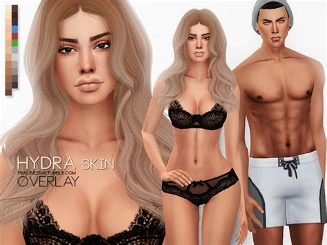 cc sims 4 female skin sims 4 cc s the best hydra skin overlay by pralinesims