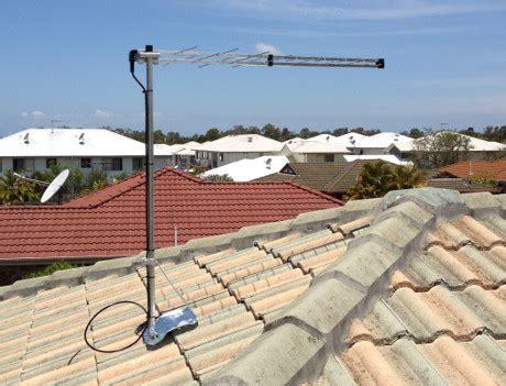 mount  tv antenna
