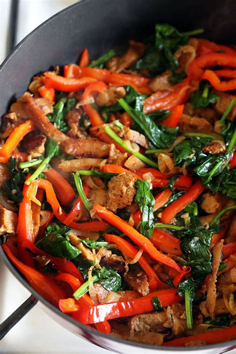 vegetables for stir fry seitan and vegetable stir fry recipe pickled plum food