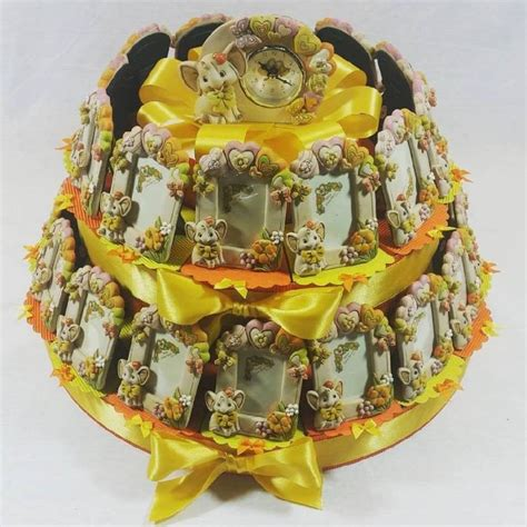 bomboniere cornici torta bomboniera cornici elefantinii nascita