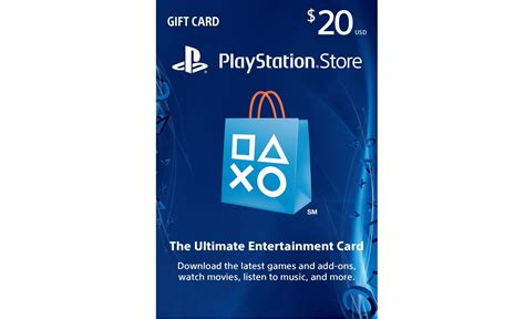 Playstation Store 20 Gift Card - gift card playstation store us 20 breaking station