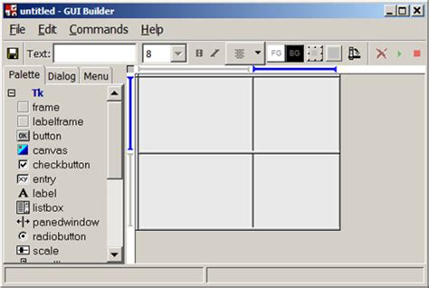 layout editor python python is there a gui design app for the tkinter grid