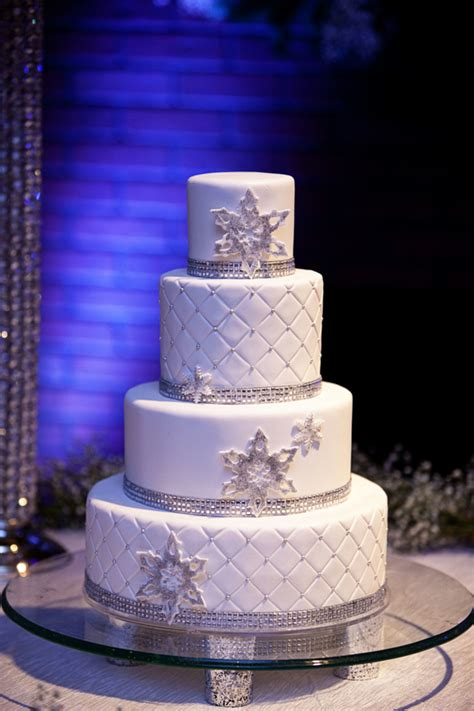 a beautiful winter wedding the couture cakery