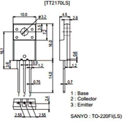 transistor tt2170 datasheet tt2170 datasheet pdf sanyo gt panasonic