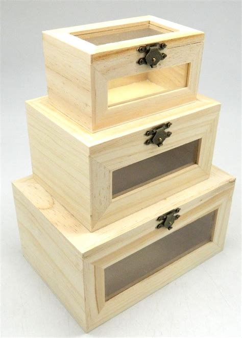 make your own jewelry box design your own set x3 wood box diy unfinished trinket