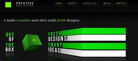 design inspiration one page single page web design inspiration cocktail 4 creativecrunk