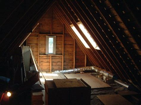 attic pictures in the meantime the drains get put in for the master lavatory and the toilet drains in the