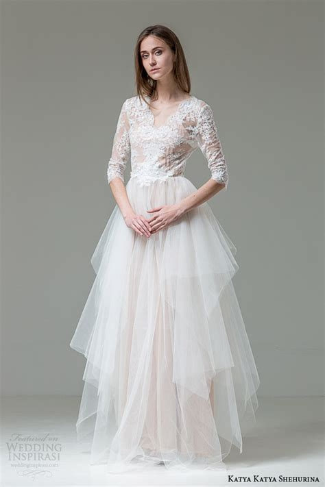 katya katya shehurina wedding dresses feather bridal