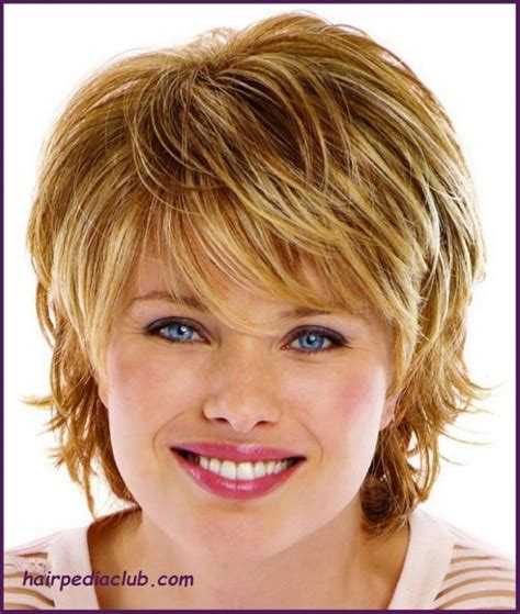 women short hairstyle fat face thin hair 5 short haircuts for fine hair and round faces