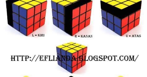 tutorial cara bermain rubik 3x3 rumus lengkap cara bermain rubik 3x3 eflianda blogzzz