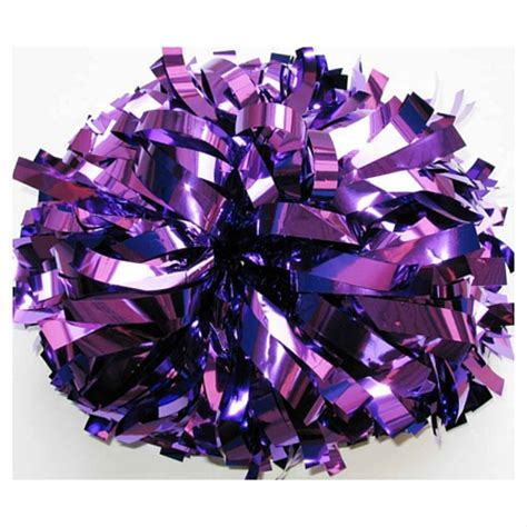 purple pomeranian wholesale metallic purple pom poms