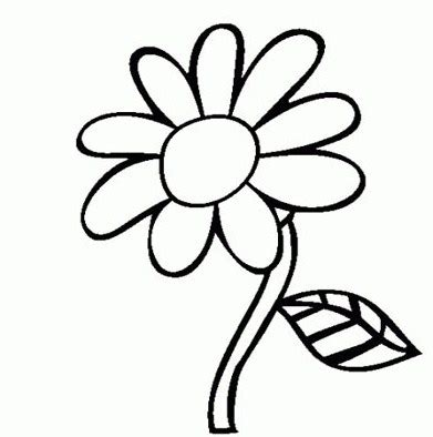 contoh gambar bunga kartun terbaru  gambar mania