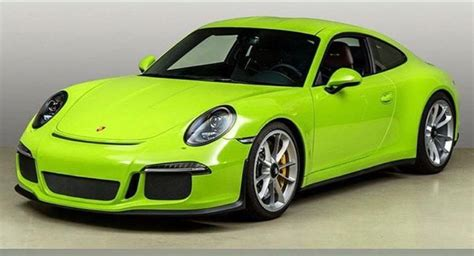 porsche 911 green acid green porsche 911 r makes sure you will never go