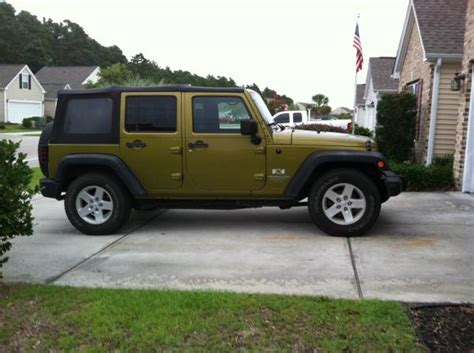 Jeep Unlimited For Sale 2008 Jeep Wrangler Unlimited X For Sale In Arden Nc