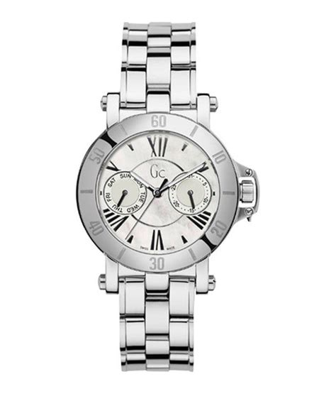 Guess Kepang Kotak Silver gc x74001l1s s price in india buy gc x74001l1s s at snapdeal
