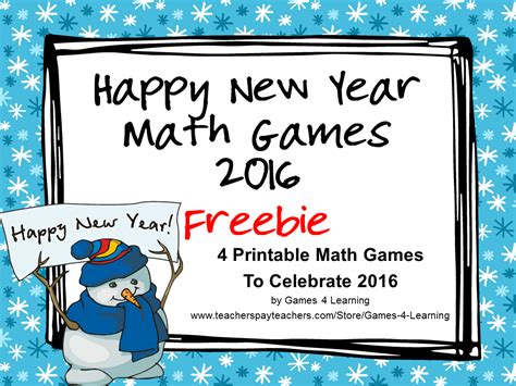 new year grade 2 4 learning new year math freebies ideas and more