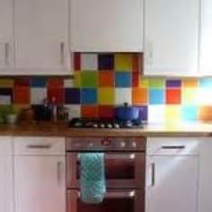 multi color backsplash tile splashback on patchwork tiles kitchen