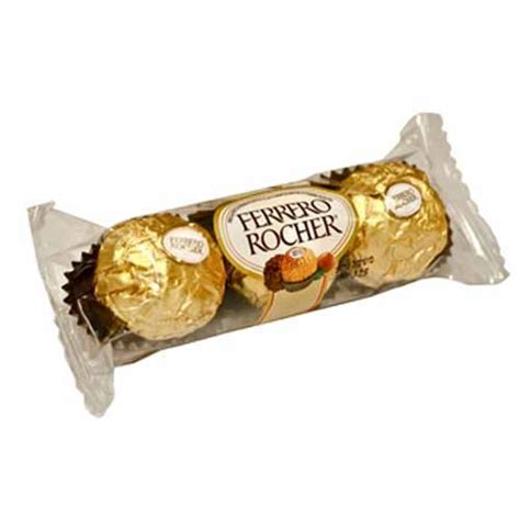 Ferrero Rocher By Jadoel Snack ferrero rocher chocolate t3 37 5 g chocolate snacks