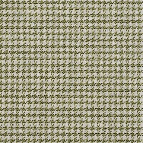 Green And White Upholstery Fabric by E858 Light Green And White Classic Houndstooth