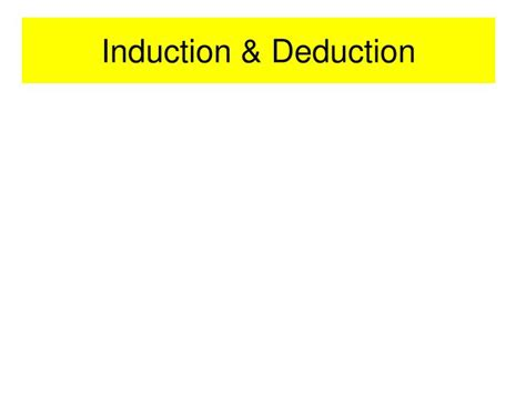 principle of induction and deduction ppt federalism powerpoint presentation id 1725295
