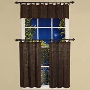 Bamboo Kitchen Curtains Bamboo Cafe Curtains Curtains Blinds
