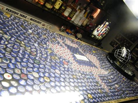 beer cap bar top beer cap bar top with plexi glass diy idea s pinterest