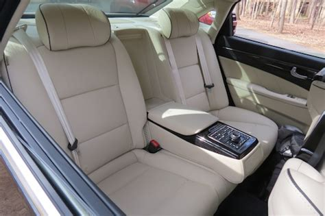 hyundai with reclining seats living large with the hyundai equus ultimate auto trends
