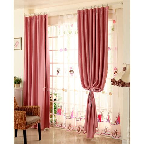 long curtains cheap cheap long curtains for blackout and thermal in hot pink color