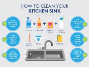 How To Clean A Smelly Kitchen Sink How To Clean Your Kitchen Sink
