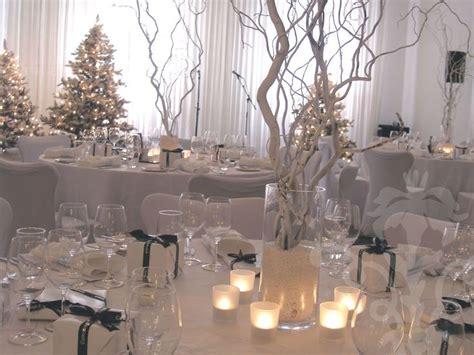 winter wedding centerpieces centrepiece