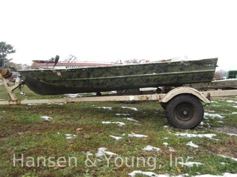 jon boat cing 12 ft montgomery wards sea king jon boat with trailer