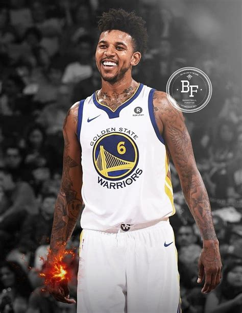 nick young tattoos nick glad the warriors him that smile he
