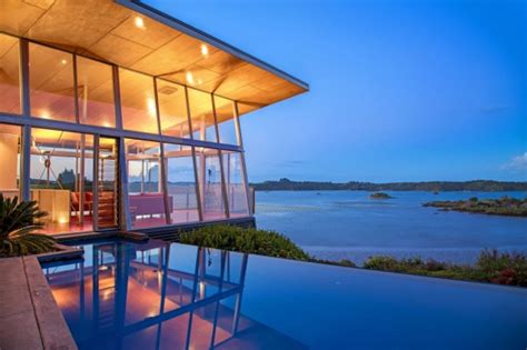 waterfront home plans and designs amazing waterfront home an amazingly beautiful modern waterfront house from new