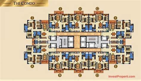 layout apartemen taman anggrek apartemen taman anggrek residences