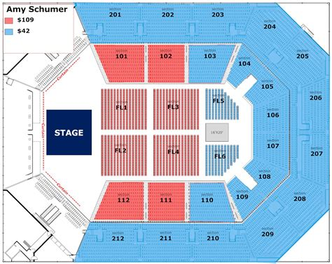 seating chart seating charts the bb t arena at northern kentucky