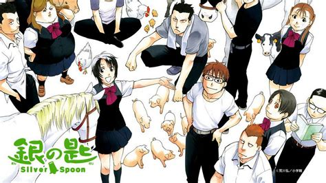 silver spoon tv series 2014 silver spoon anime 2013 senscritique