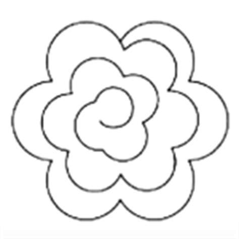 fiori di feltro cartamodelli tutorial per realizzare una ghirlanda di fiori di feltro