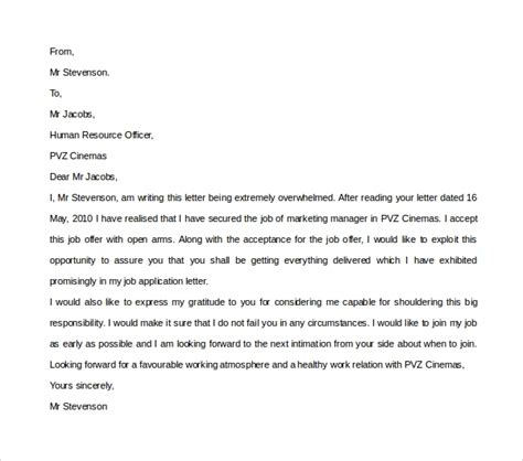24 sample thank you letter templates to boss pdf doc apple pages