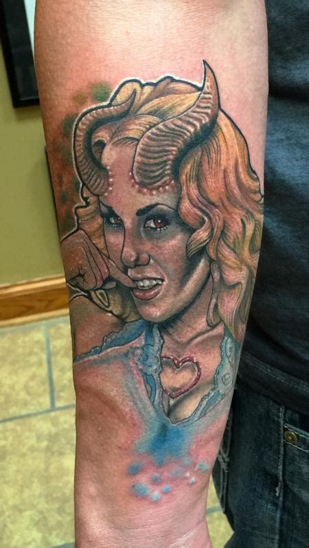 succubus tattoo matthew davidson s designs tattoonow