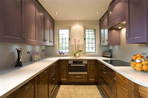 How To Design A Kitchen Uk Kitchen Design U Shaped Rooms Kitchen Sourcebook