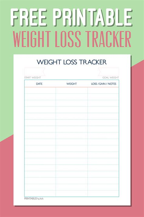 printable weight loss chart ellipsis