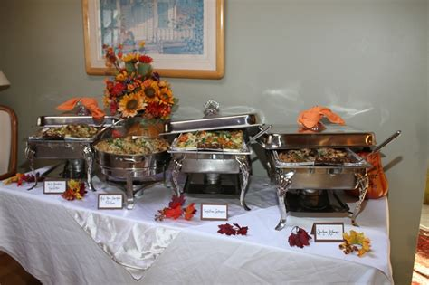 dinner company dinner company buffet set up banquet tips tricks