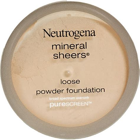 Product Review Neutrogena Mineral Sheers For by Neutrogena Mineral Sheers Powder Foundation Classic