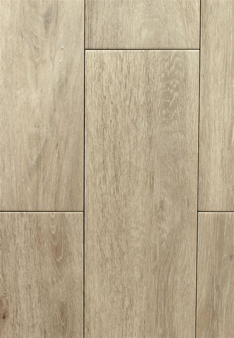 Niove Haya Taupe Faux Wood Ceramic Floor Tile   CarpetMart